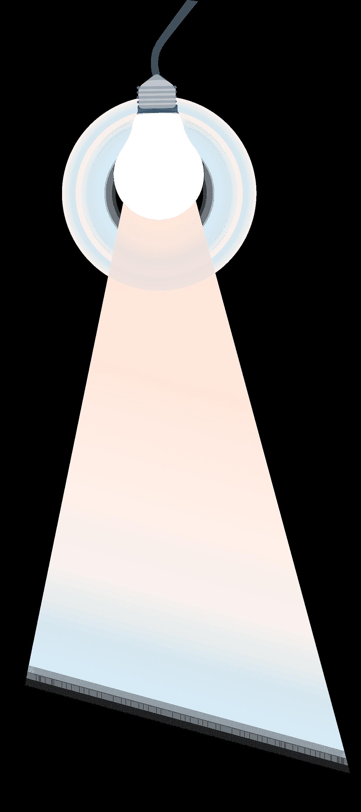 лампа ляво