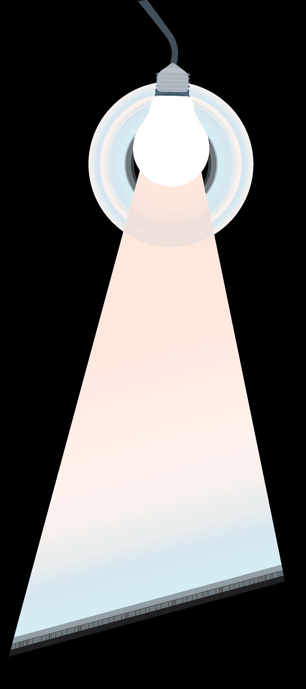 лампа правая