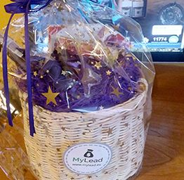 A basket full of sweets. Especially for our users.