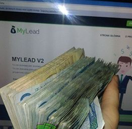 Mylead + commitment = pockets stuffed with cash.