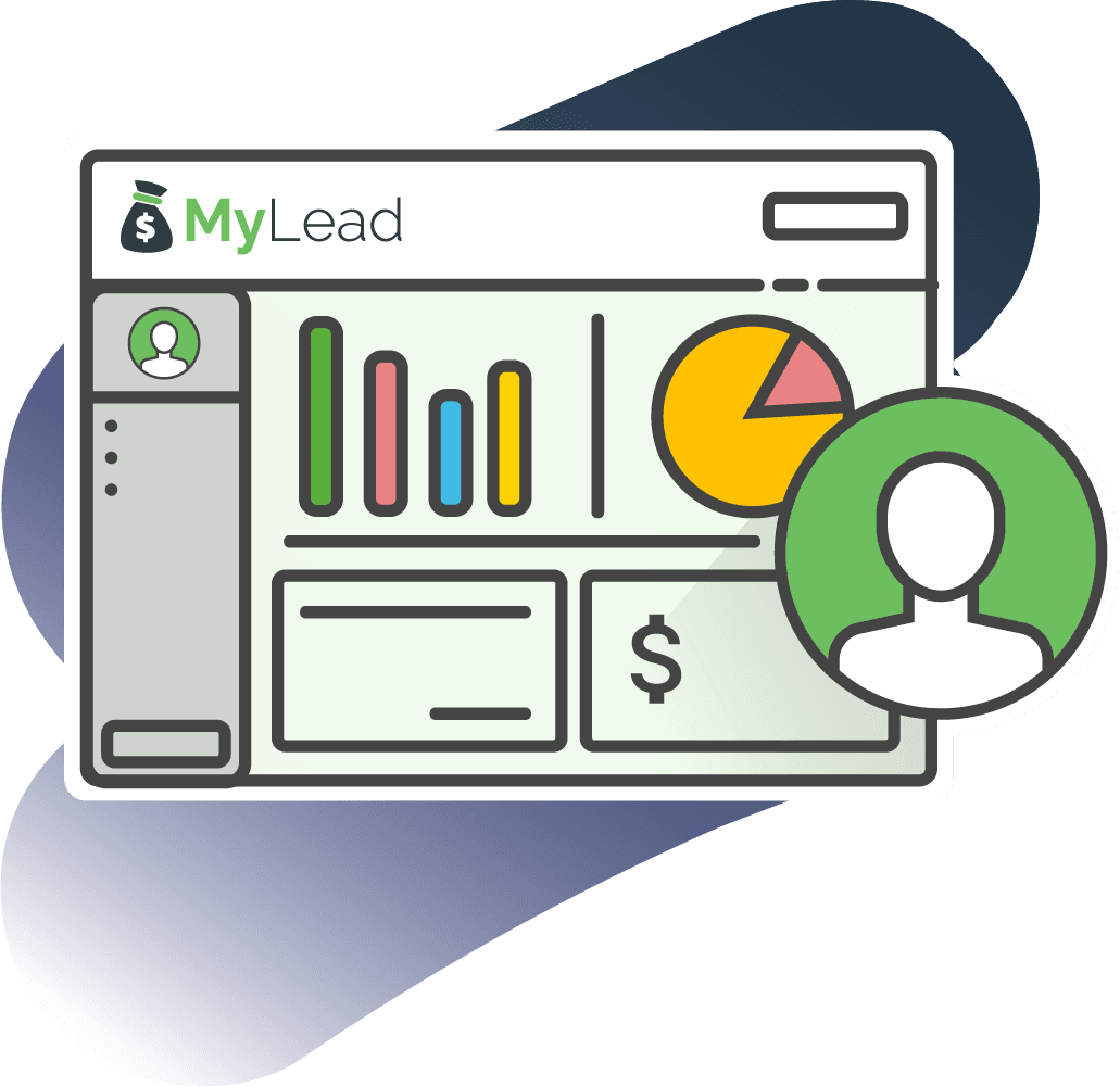 Step one - create an account in the MyLead affiliate network